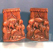 SALE Pair Book Ends