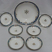 Dessert Set Nippon Porcelain Service for 6