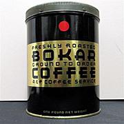 Bokar Advertising Coffee Tin