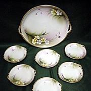 SOLD Nippon Porcelain Butter Set