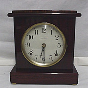 Seth Thomas Clock Rosewood Finish Adamantine