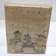 SALE Advertising Watch Crystal Box For Ingraham Watch Co.