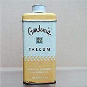 Advertising Tin For Gardenia Talc  50% OFF