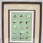 Framed Print of E. H. Rosborough Tied Flies 50% OFF