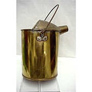 SALE Brass Water Can