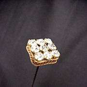 """SALE Hatpin 10"""" long Hat Pin Set with Brilliance  $100"""