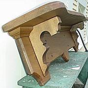"SALE Pine Shelf Antique American 48"" long"