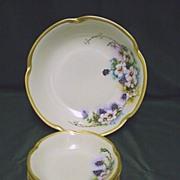 SALE Bavarian Porcelain Serving Bowl and Six Individual Servings