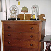 Solid Cherry Chest of Drawers Circa 1835