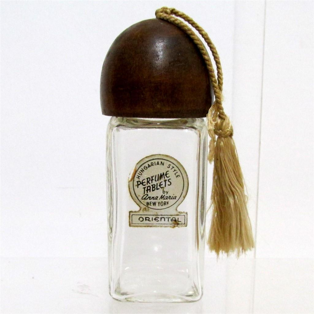 Glass Bottle for Perfume Tablets
