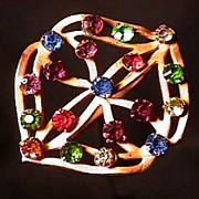 """SALE Hatpin 8 1/2"""" long Art Nouveau  $129"""