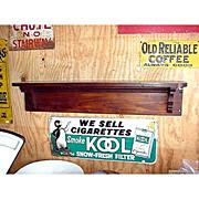 SALE Antique American Pine Shelf