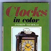 SALE Clocks in Color Andrew Nichols