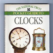 SALE Clocks the National Trust Pocket Guide