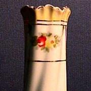 SALE Hat Pin Holder Art Nouveau Porcelain Hatpin Holder