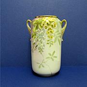 SALE Nippon Vase Hand Painted  Porcelain