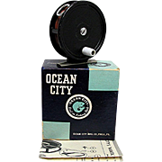 Ocean City Fly Reel Model #35 in Original Box
