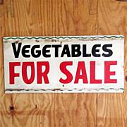 SALE Vegetables For Sale Advertising Sign 50% OFF