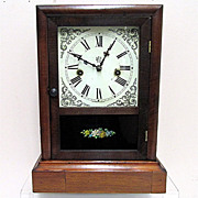 SALE Antique Mantel Clock by Waterbury Clock Co.