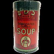 SALE Edwards Soup Tin