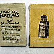 SALE Physicians Sample of Hematinic Plastules Unopened