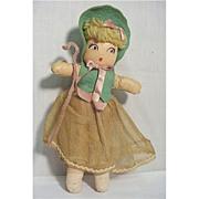 SALE Doll Nursery Rhyme Mary Had a Lamb