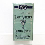 SALE Bargain Dr. Lynas Mint Box of Toilet Articles  MINT