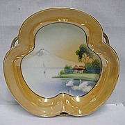 SALE Luster Dish Hand Painted Lusterware
