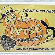 Wise Potato Chips Thanksgiving Advertising Sign