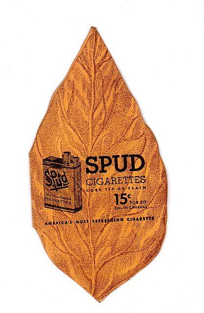 SPUD Cigarettes Needle Book Sharp Set