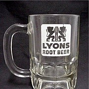 SALE Lyons Root Beer Mug