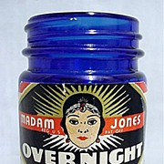 SALE Madam Jones Overnight Cream Cobalt Jar