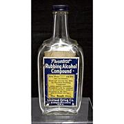 SALE United Drug Co. Rexall Glass Bottle