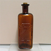 Amber Glass Bottle Armour & Co.  Chicago Digestive Ferments