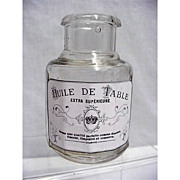 Table Oil Bottle