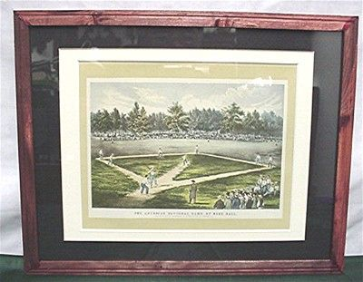 Base Ball Print By Currier And Ives