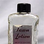 SALE Tawn Lotion Glass Bottle