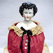 SALE Limbach Factory Half Doll one of a pair