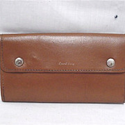 SALE Leather Fly Wallet 50% OFF