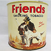 Friends  Advertising Tobacco Tin 250+ Advertising Tins To Choose From ALL ON SALE