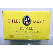 SALE Dills Best Flat Pocket Tin