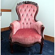 SALE Ladies Victorian Arm Chair