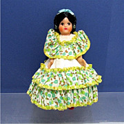 """SALE Souvenir Doll 6"""" tall in Native Garb"""
