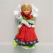 """SALE Souvenir Doll 7""""  Tall"""