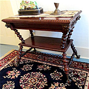 SALE Merklen Brothers Center Table