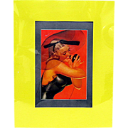 November 1937 Petty Girl Print by George Petty
