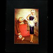 SALE George Petty  October 1935 Esquire Magazine Satirical Print