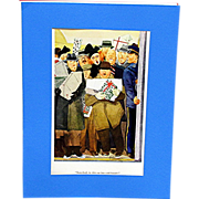 SALE Three Cartoon Prints by E. Simms Campbell Esquire Magazine 1936-37-38