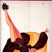 February 1936 George Petty Print
