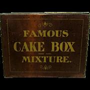 SALE Famous Cake Box Mixture Tobacco Tin